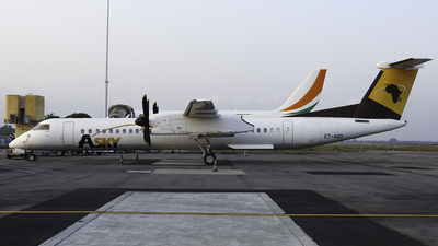 A picture of ETAQD - De Havilland Canada Dash 8400 - ASKY - © Mehdi CHEAIT0