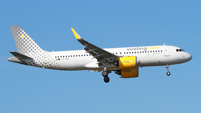 A picture of ECNDC - Airbus A320271N - Vueling - © Cele