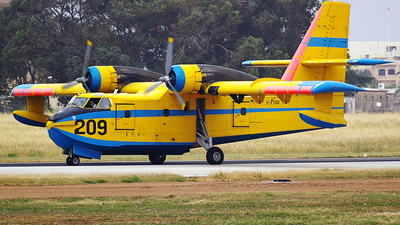 C-FTUU - Canadair CL-215-1A10 - Air Spray