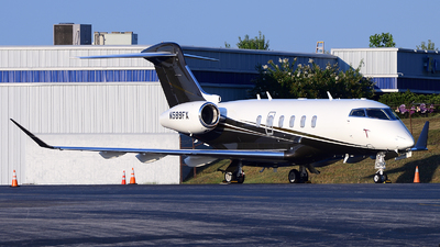 A picture of N589FX - Bombardier Challenger 350 - Flexjet - © Agustin Anaya