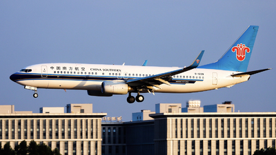 A picture of B1239 - Boeing 73781B - China Southern Airlines - © nibrage