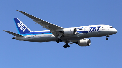 JA818A - Boeing 787-8 Dreamliner - All Nippon Airways (ANA)