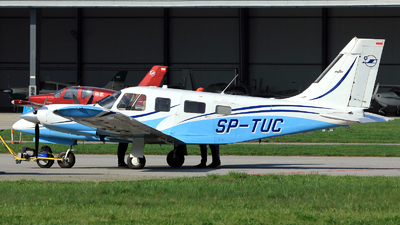 SP-TUC - Piper PA-34-220T Seneca V - OKL - Aviation Training Centre of Rzeszow Technical University
