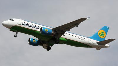UK32017 - Airbus A320-214 - Uzbekistan Airways