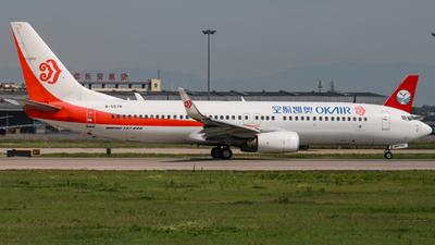 B-5578 - Boeing 737-8AS - OK Air