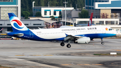 A picture of B9976 - Airbus A320232 - Chongqing Airlines - © TPS00