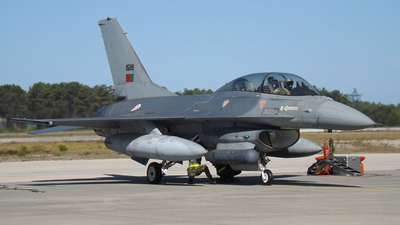 15119 - General Dynamics F-16BM Fighting Falcon - Portugal - Air Force