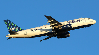 A picture of N589JB - Airbus A320232 - JetBlue Airways - © Huy Do