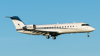 C-FLKY - Bombardier CL-600-2B19 Challenger 850 - Private