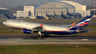 VP-BLY - Airbus A330-243 - Aeroflot