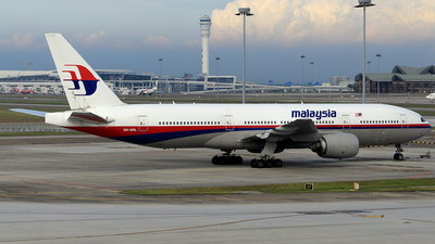 9M-MRL - Boeing 777-2H6(ER) - Malaysia Airlines