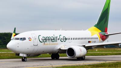 A picture of TJQCB - Boeing 7377BD - CamairCo - © Mael Robin