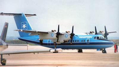 OY-MBC - De Havilland Canada DHC-7-102 Dash 7 - Maersk Air