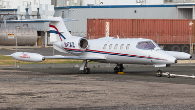 N17AZ - Gates Learjet 35A - Private