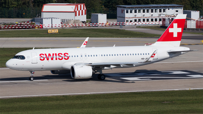 HB-JDA - Airbus A320-271N - Swiss