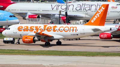 A picture of GEZAS - Airbus A319111 - easyJet - © Jamie PD