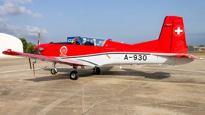 A-930 - Pilatus PC-7 - Switzerland - Air Force