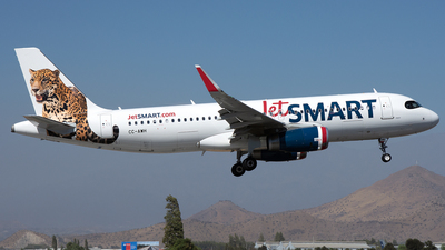 CC-AWH - Airbus A320-232 - JetSmart