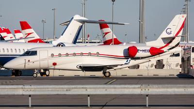 OE-HED - Gulfstream G200 - Avcon Jet
