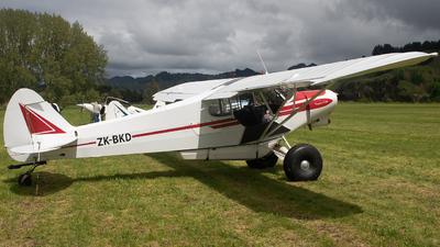ZK-BKD - Piper PA-18-150 Super Cub - Private