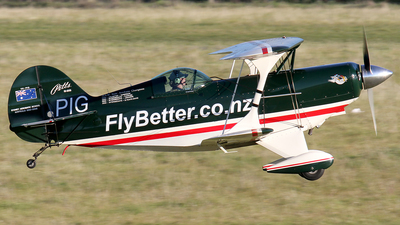 ZK-PIG - Pitts S-2S Special - Private