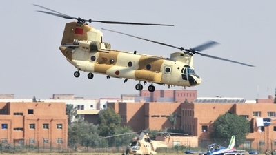 CN-ALJ - Boeing CH-47D Chinook - Morocco - Air Force