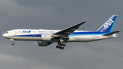 JA715A - Boeing 777-281(ER) - All Nippon Airways (ANA)