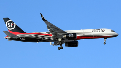 A picture of B20CX - Boeing 757236(PCF) - SF Airlines - © yiran