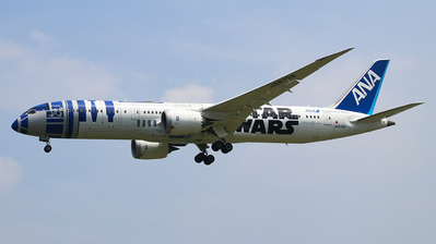 A picture of JA873A - Boeing 7879 Dreamliner - All Nippon Airways - © Jerry Huan