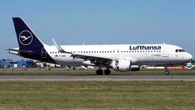D-AIWD - Airbus A320-214 - Lufthansa