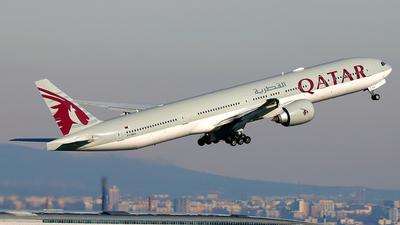A picture of A7BEX - Boeing 7773DZ(ER) - Qatar Airways - © Daniel Klein