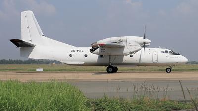 ZS-PEL - Antonov An-32B - Valan International Cargo Charter