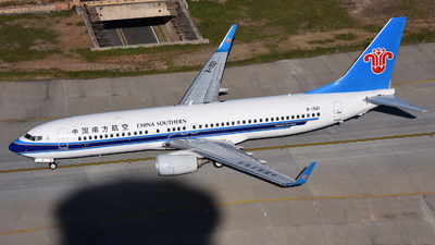 B-1921 - Boeing 737-86N - China Southern Airlines