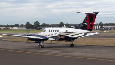 VH-FAQ - Beechcraft 200 Super King Air - Private