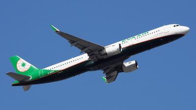 A picture of B16225 - Airbus A321211 - EVA Air - © toeychincha