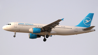 5Y-JZX - Airbus A320-212 - Jubba Airways