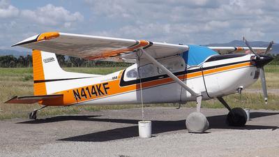 A picture of N414KF - Cessna 180K Skywagon - [18053147] - © Jimmy Lorenzo