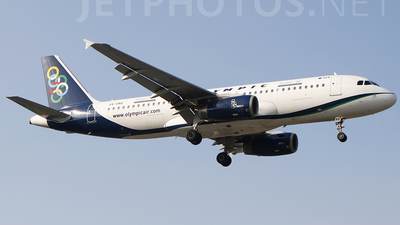 SX-OAQ - Airbus A320-232 - Olympic Air