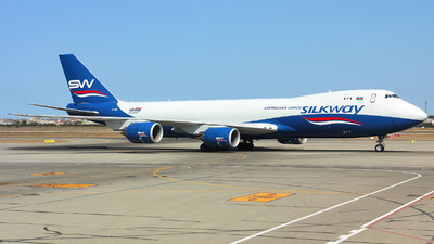 A picture of VQBBM - Boeing 74783QF - Silk Way West Airlines - © Lars Rohde
