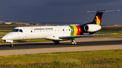 N812HK - Embraer ERJ-145LR - Zimbabwe Airways
