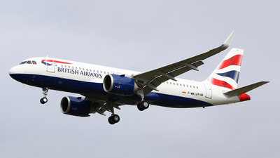 F-WWIV - Airbus A320-251N - British Airways
