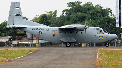 P-8203 - IPTN NC212M-200 Aviocar - Indonesia - Naval Air Arm