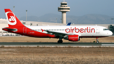 D-ALTE - Airbus A320-214 - Air Berlin