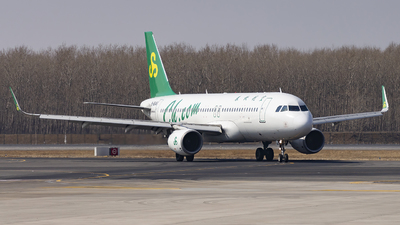 A picture of B6646 - Airbus A320214 - Spring Airlines - © Minizyi