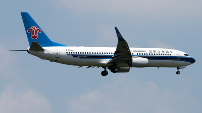 A picture of B206A - Boeing 73781B - China Southern Airlines - © Lazy Clutch