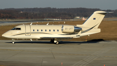 EC-JYT - Bombardier CL-600-2B16 Challenger 604 - TAG Aviation