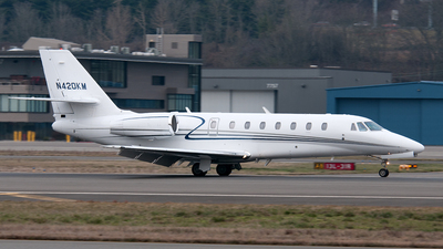 A picture of N420KM - Cessna 750 Citation X - [7500234] - © Nick Michaud