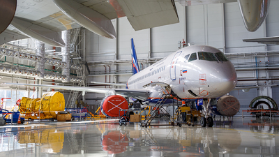 RA-89103 - Sukhoi Superjet 100-95B - Aeroflot