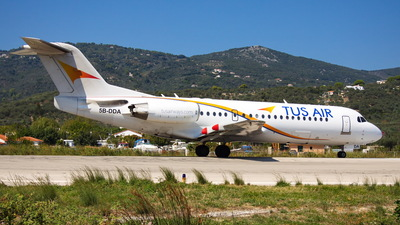 5B-DDA - Fokker 70 - Tus Airways