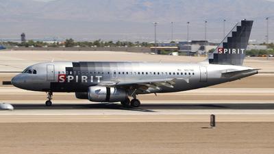 N517NK - Airbus A319-132 - Spirit Airlines